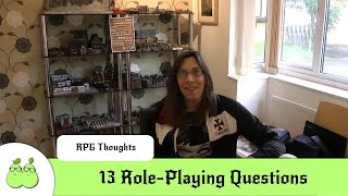 13 Role-Playing Questions from Samwise Seven