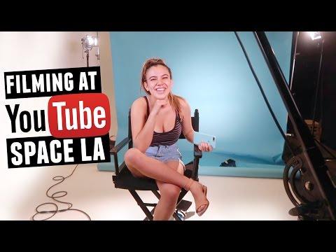 FILMING AT YOUTUBE SPACE LA!