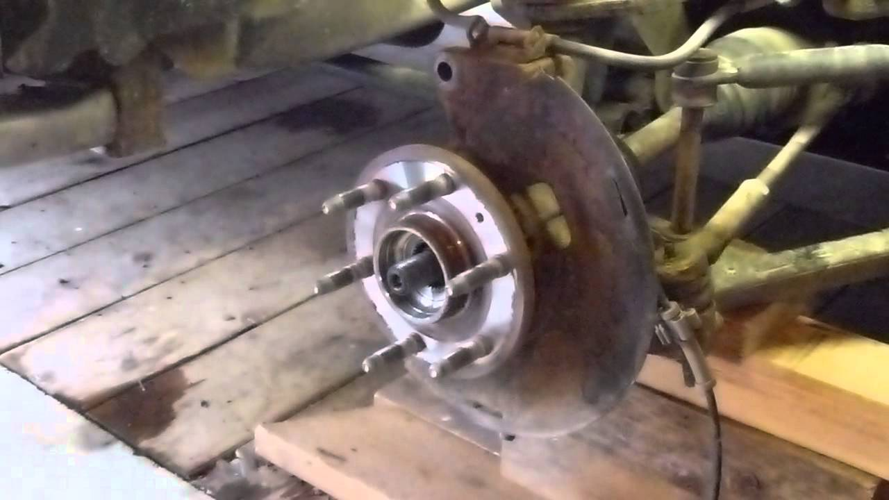 How To Replace A Chevy Silverado Front Spindle Bearings ...