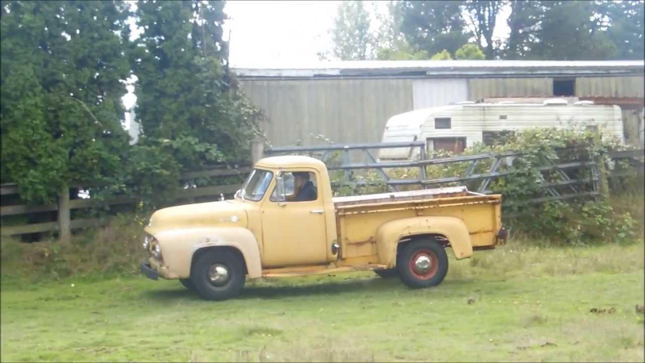 1955 Ford F 250 Youtube F100 Truck Art