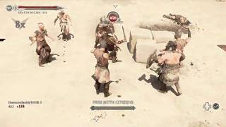 Ryse Son of Rome short gameplay(PC)[HD](PL)