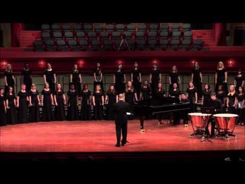 Eatnemen Vuelie - arr. Frode Fjellheim - UNT Women's Chorus, Peter Steenblik