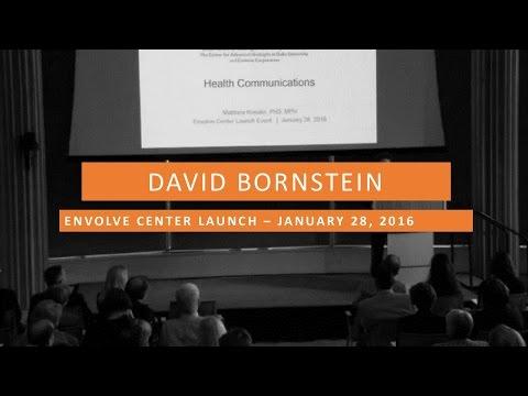 Envolve Launch Event - David Bornstein