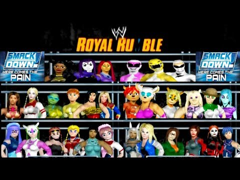 Classic Creations Woman's Royal Rumble (Smackdown!: Here Comes the Pain)