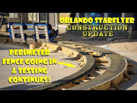 Orlando StarFlyer - World's Tallest StarFlyer Construction Update 3.28.18  General Work