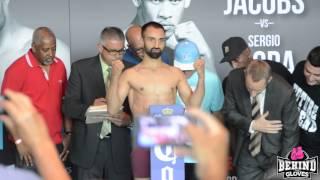 Danny Garcia v Paulie Malignaggi Weigh In + Jacobs v Mora