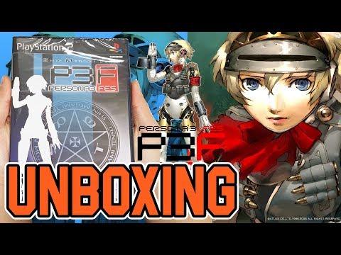 Shin Megami Tensei Persona 3 FES (PS2) Unboxing!!