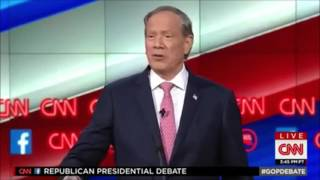 "George Pataki Refers to Donald Trump as ""This President"""