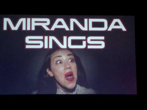 Miranda Sings Oslo 18/9/2017