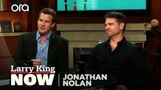 Jonathan Nolan Weighs In On Ben Affleck As Batman | Jonathan Nolan | Larry King Now - Ora TV