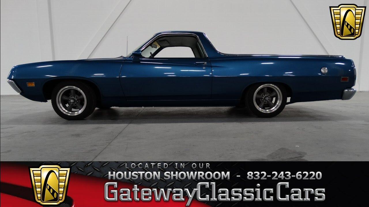 1971 Ford Ranchero GT Houston Texas