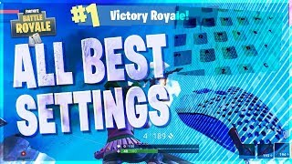 FORTNITE BEST MOUSE SENSITIVITY, KEY BINDINGS & CUSTOM FOV! TO HELP YOU BE A PRO PLAYER!