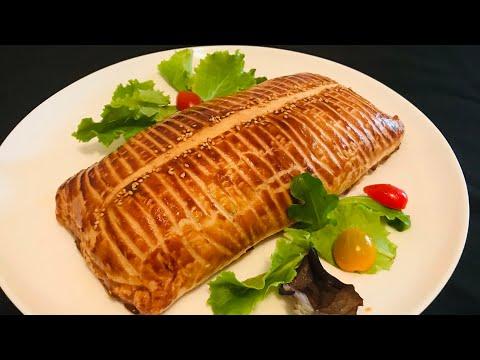filet-de-poulet-en-croûte---chicken-wellington-recipe