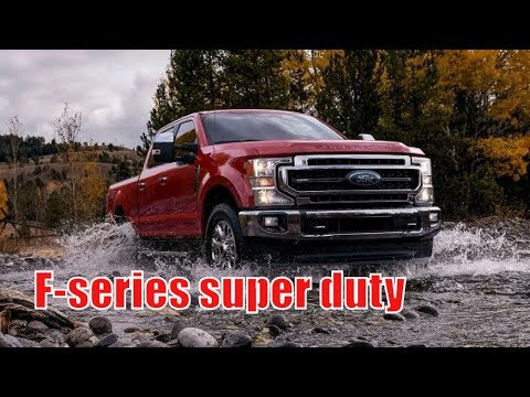 2020 ford super duty release date | 2020 ford f-series super duty debuts new monster 7.3-liter v8