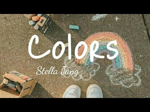 #stellajang #lyrics #songs Stella Jang || COLORS || lyrics || By peachy
