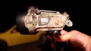 Black and decker spotlight review!