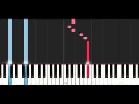 The Pink Panther Theme (SLOW EASY PIANO TUTORIAL)