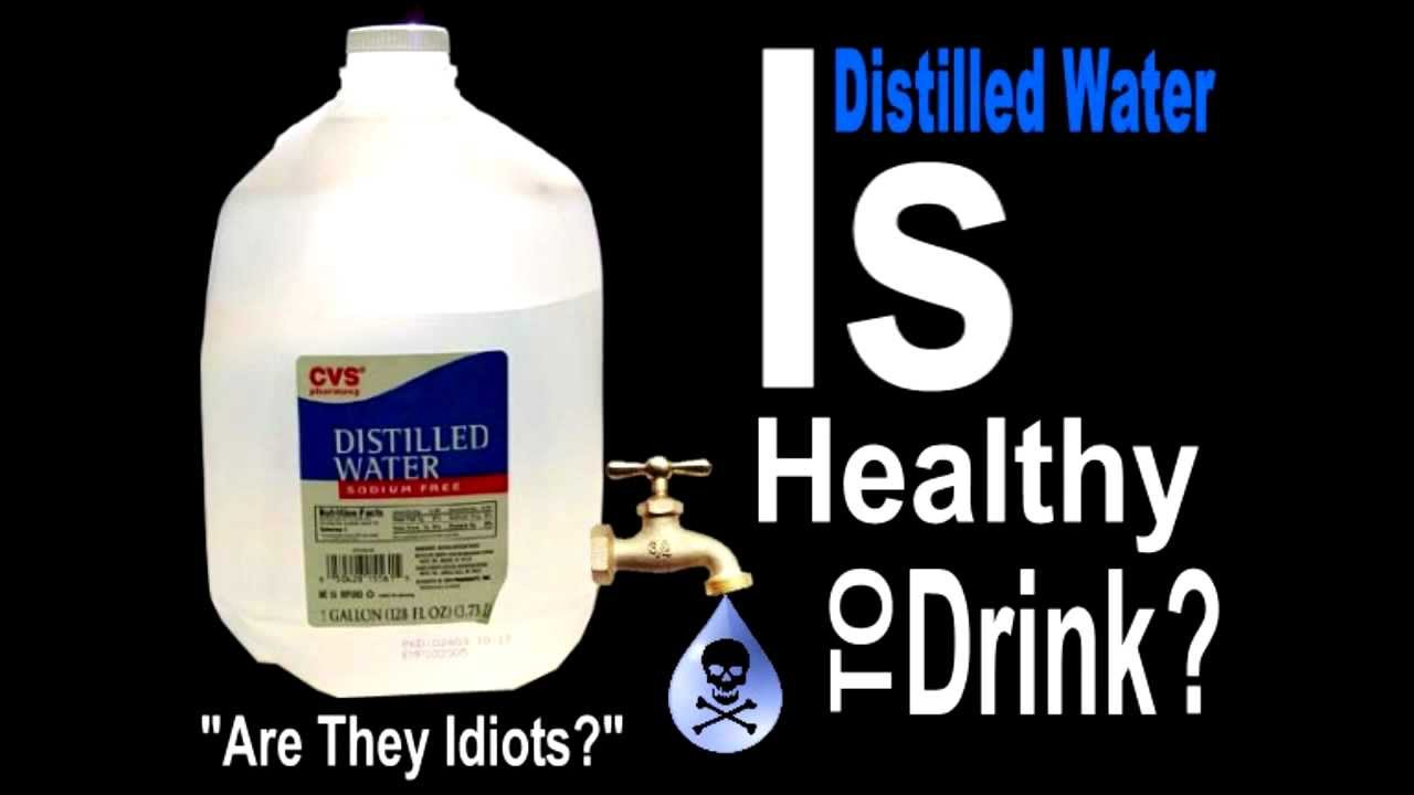 distilled water for drinking