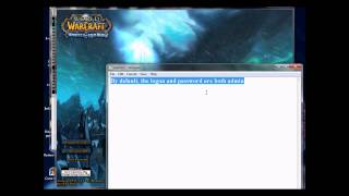 WoW 3.3.5 Private Server How To