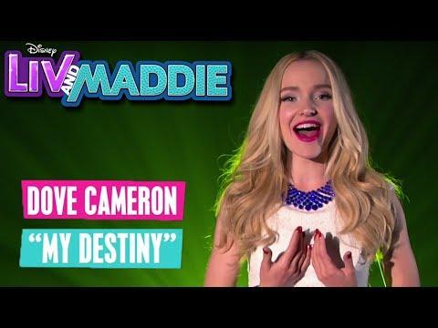LIV & MADDIE 🙋🏼💁🏼 Dove Cameron: My Destiny 🎵 | Disney Channel Songs
