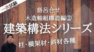 [語呂合せ]木造軸組構造編②_インテリアコーディネーター資格講座[1次試験]