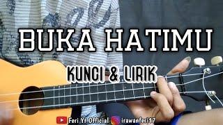 Buka Hatimu - Armada (Kunci & Lirik) cover kentrung ukulele by Feri Yt Official