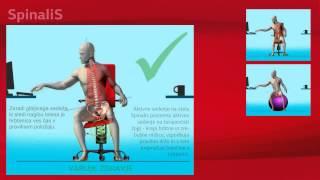 SpinaliS - aktivno sedenje za zdrav hrbet