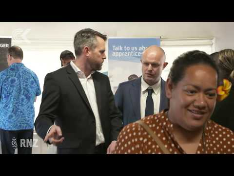 Hundreds At Auckland Airport For Jobs Expo
