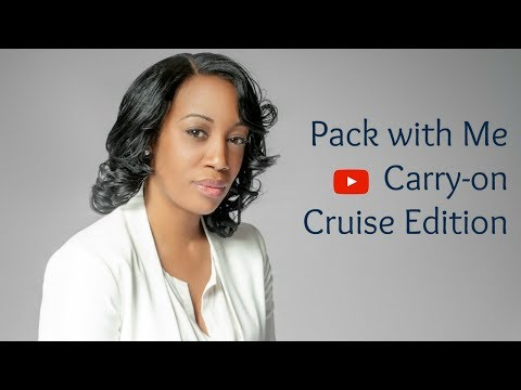 Pack With Me - Cruise Edition: Carry-on