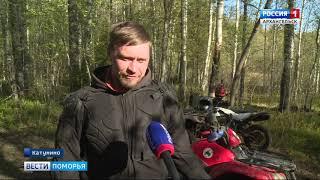 Активисты «Экопатруля» и движения «Чистый Север — Чистая страна» устроили в лесу субботник