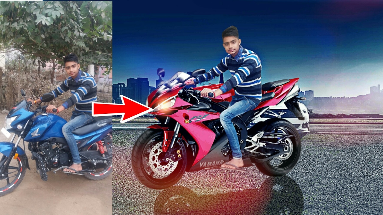 Picsart editing tutorial bike change cb editing picsart subscribe promise ritesh voltagebd Image collections