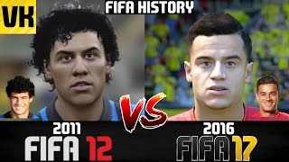 FIFA HISTORY 2011 vs 2016: FIFA 12 VS FIFA 17 PLAYER FACES COMPARISON!