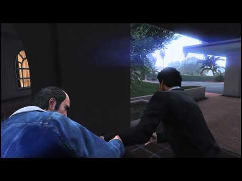 GTA V PC - Trevor's Fist Fight