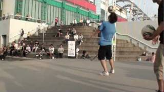 HIRO-K vs NAO - Freestyle Football WFSLeague Japan Final TOP 4