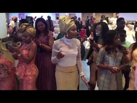 Tomi Omotosho and Kayode Aluko's wedding reception & party in Leicester UK 03 June 2016