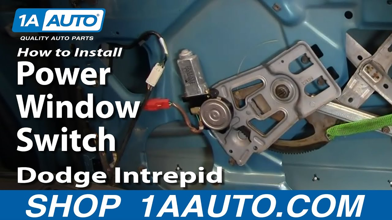 How To Replace Power Window Switch 93