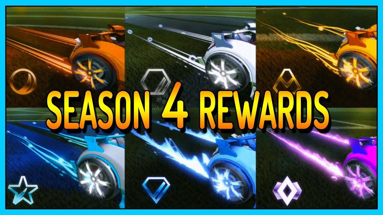 Season 4 Rewards - Das sind die Belohnungen! Rocket League ...