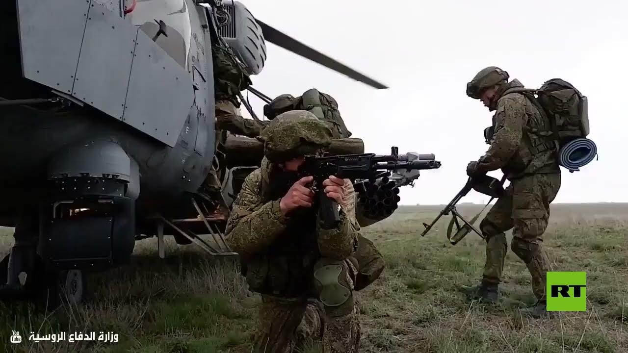 وزارة الدفاع الروسية: انطلاق المرحلة الرئيسية من التدريبات في القرم  - نشر قبل 2 ساعة