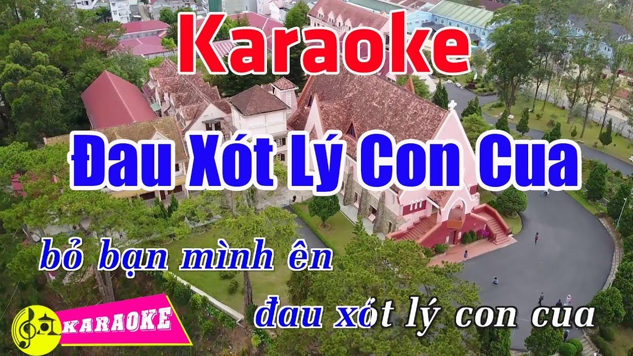 Đau Xót Lý Con Cua (Remix) - Karaoke HD    Beat Chuẩn ➤ Bến Thành Audio Video
