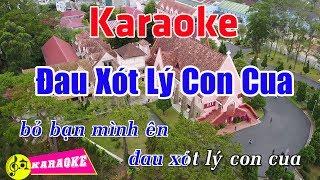 Đau Xót Lý Con Cua (Remix) - Karaoke HD || Beat Chuẩn ➤ Bến Thành Audio Video