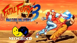 Fatal Fury 3: Road to the Final Victory playthrough (Neo Geo CD)