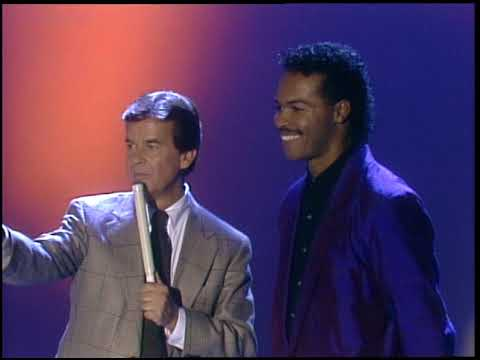 American Bandstand 1987- Interview Ray Parker Jr