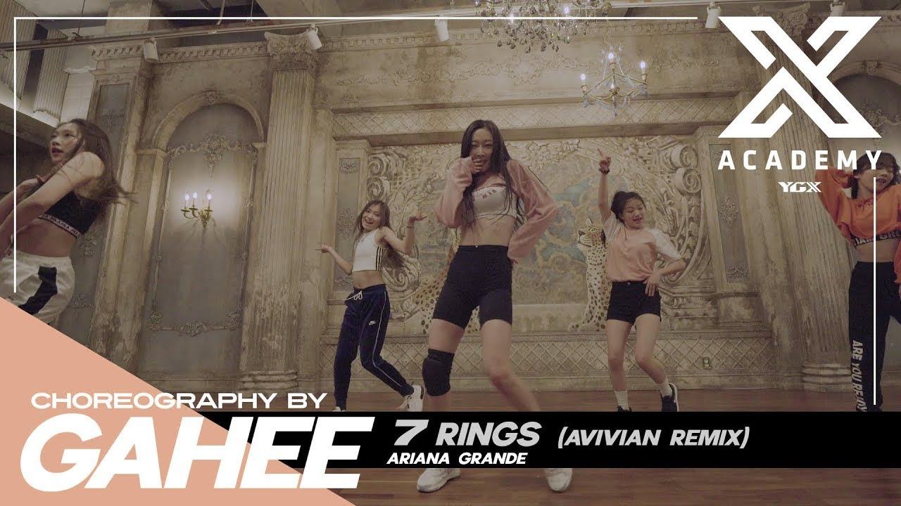 GAHEE X G CLASS | CHOREOGRAPHY VIDEO / 7 rings (Avivian Remix) - Ariana Grande
