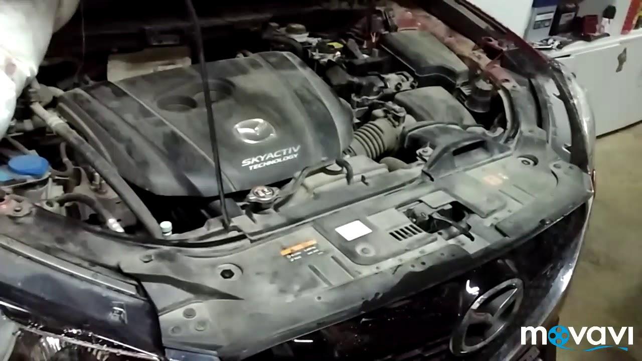 Замена масла Mazda cx-5