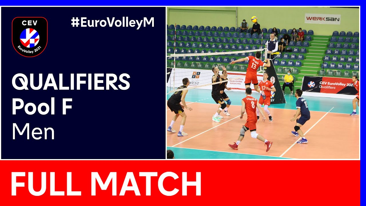 Download Georgia vs. Montenegro - CEV EuroVolley 2021 Qualifiers Men