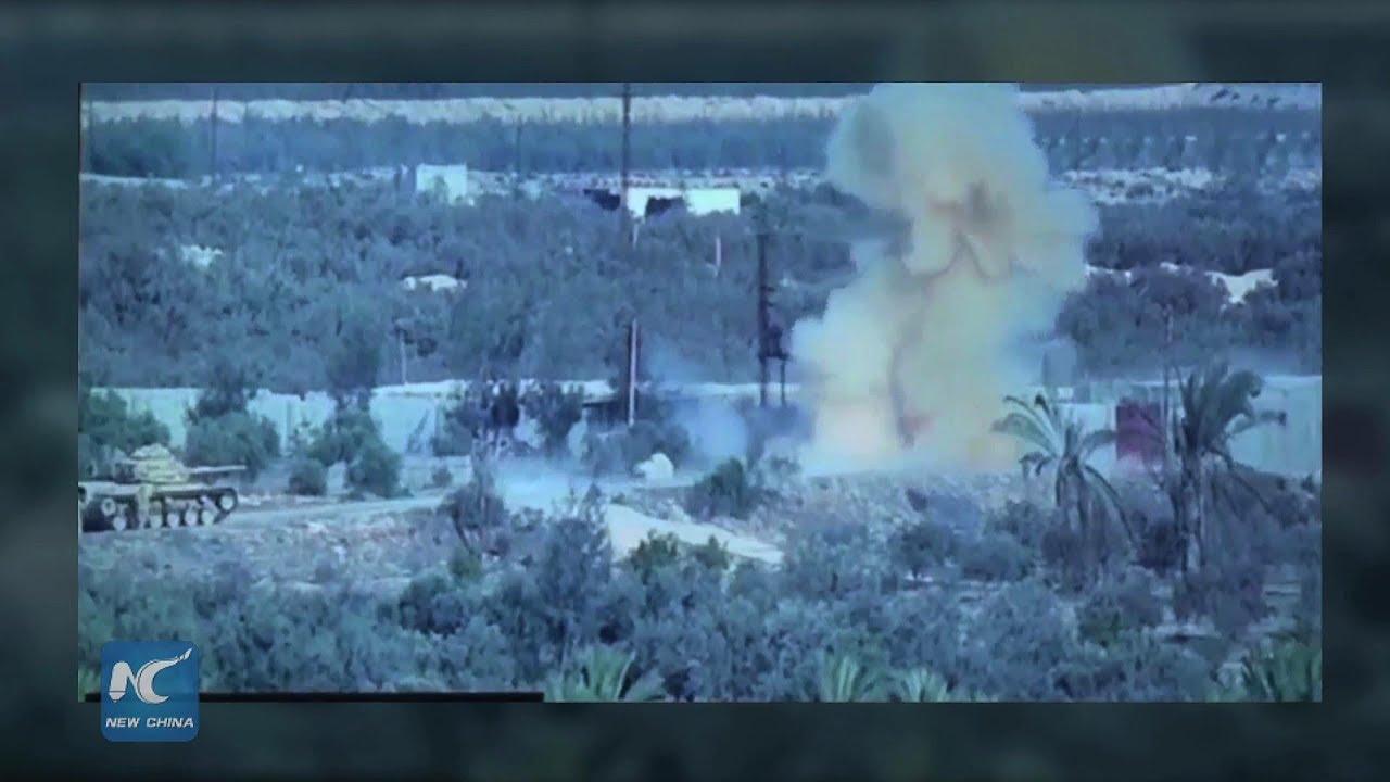 Egyptian army kills 30 terrorists in North Sinai campaign