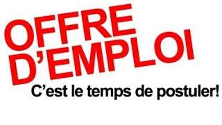 Les 28 Offres d'emploi du 10 Avril 2019 au Sénégal