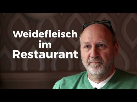 Weidefleisch im Restaurant - Chancen und Herausforderungen (Weidehaltung)