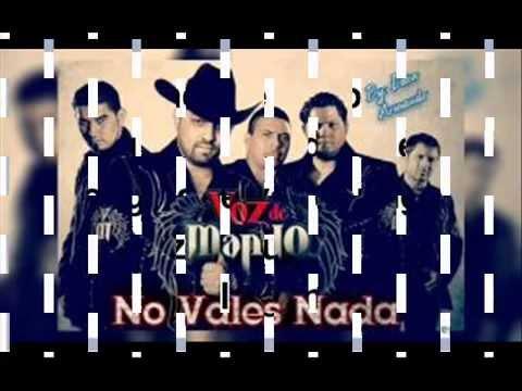 """NO VALES NADA """"VOZ DE MANDO"""""""