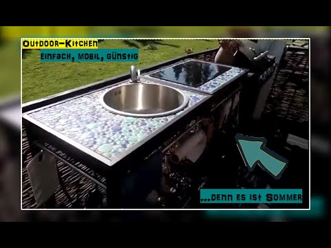 outdoor-küche,-ikea-klasen-hack🍹🍸